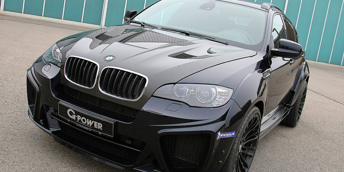 12/2011 G-Power BMW X6 M Typhoon