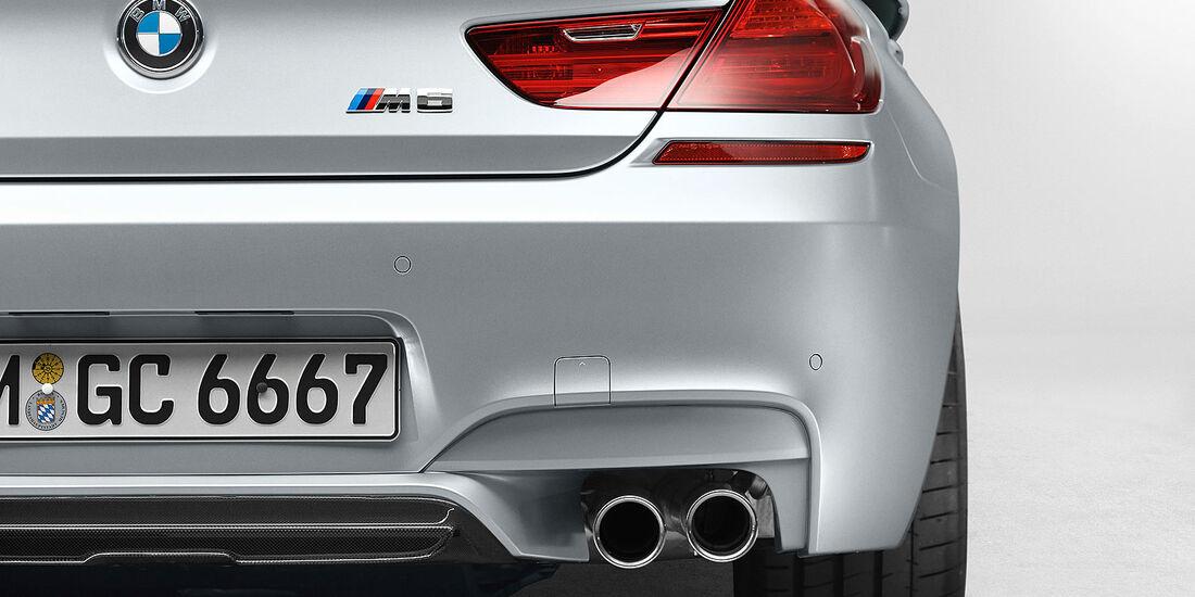 12/2012 BMW M6 Gran Coupé, Auspuff