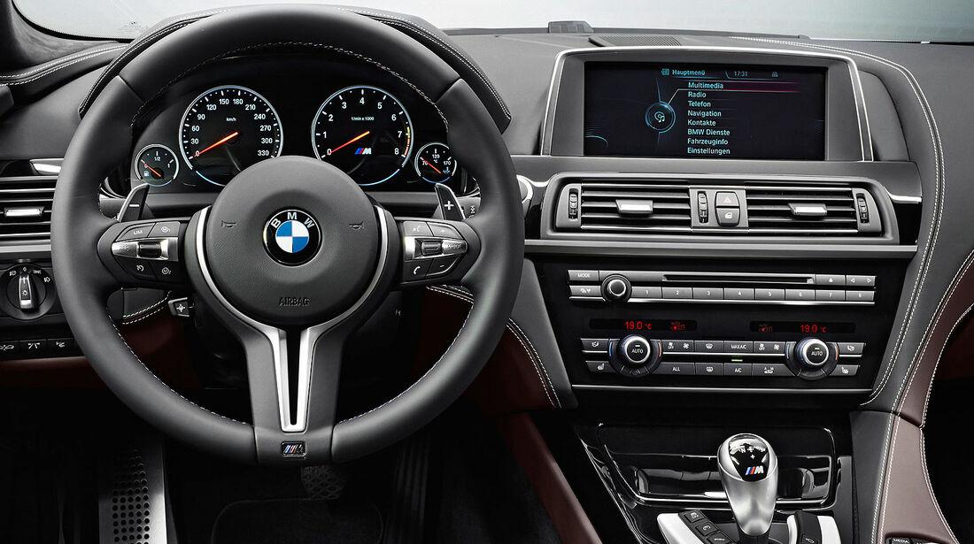 12/2012 BMW M6 Gran Coupé, Cockpit