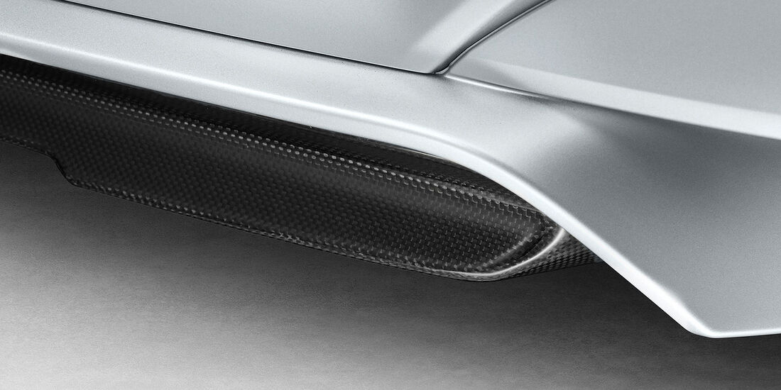 12/2012 BMW M6 Gran Coupé, Diffusor
