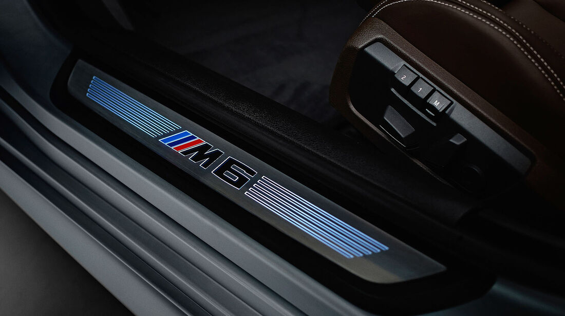 12/2012 BMW M6 Gran Coupé, Einstiegsleiste
