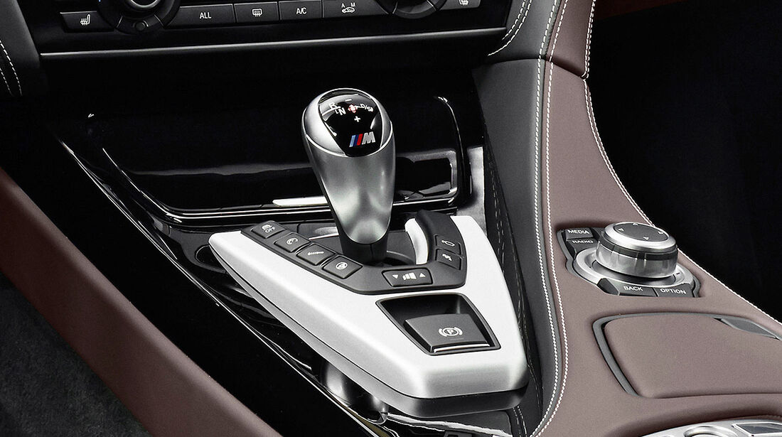 12/2012 BMW M6 Gran Coupé, Schaltung, Wählhebel
