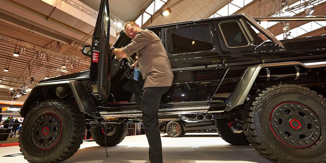 12/2013, Sitzprobe Brabus 700 6x6 Mercedes G  Essen Motor Show