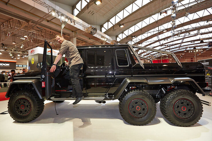 sitzprobe brabus 6x6 auf der essen motor show my car is. Black Bedroom Furniture Sets. Home Design Ideas