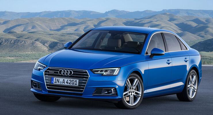 12/2015 CES 2016 Audi A4.