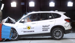 12/2015 EuroNCAP Crashtest BMW X1.