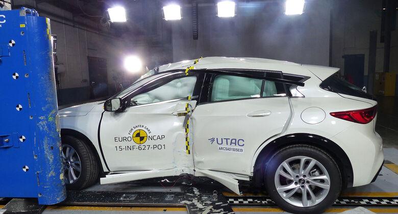 12/2015 EuroNCAP Crashtest Infiniti Q30.