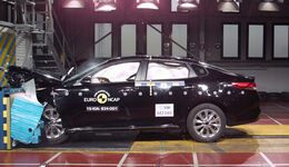 12/2015 EuroNCAP Crashtest Kia Optima