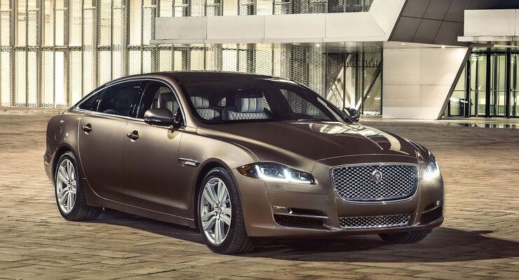 Jaguar Xj Fahrbericht Unterwegs Mit Mehr Diesel Power Auto Motor