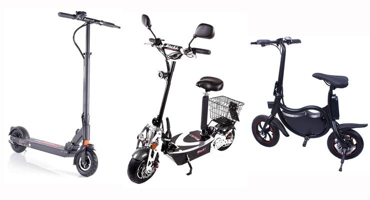 Radsport Vorderrad für Elektroroller 100 Watt