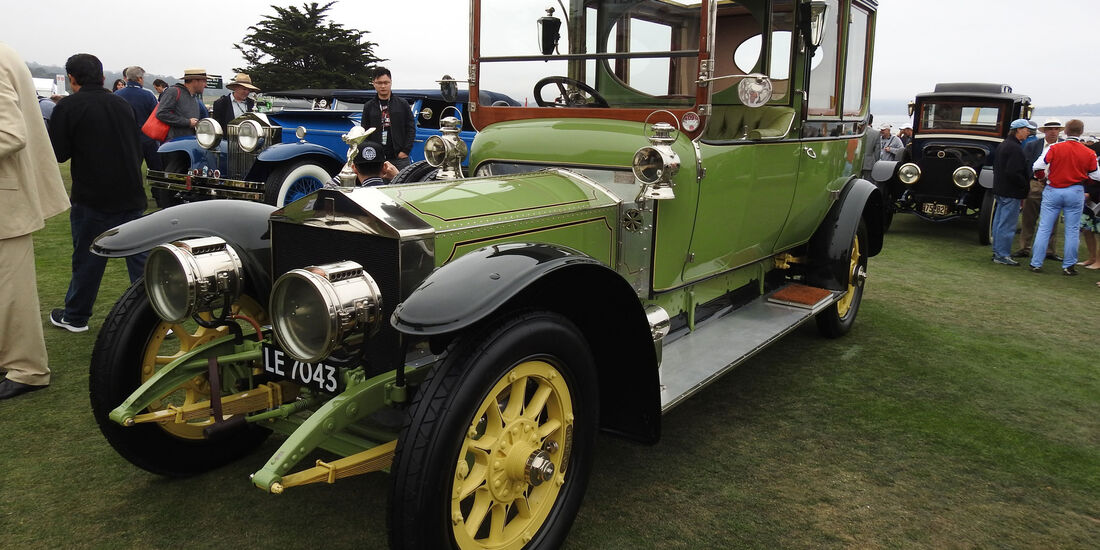 1911 Rolls-Royce Silver Ghost - Pebble Beach Concours d'Elegance 2016