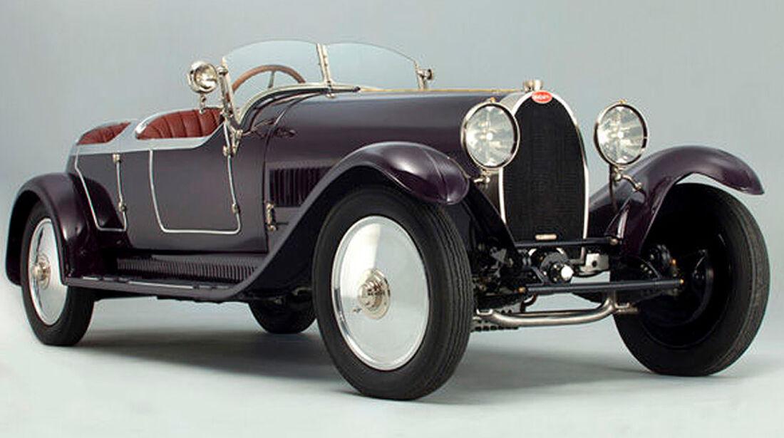 1927 Bugatti Type 38A Tourer