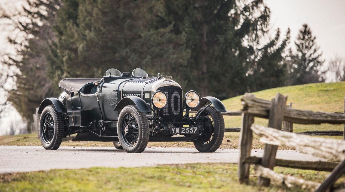 """1928 Bentley 4 1/2-Litre Le Mans Sports """"The Bobtail"""" by Vanden Plas"""