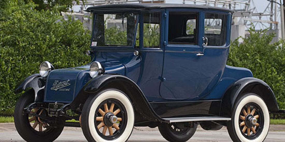 1931er Detroit Electric Model 97 Brougham