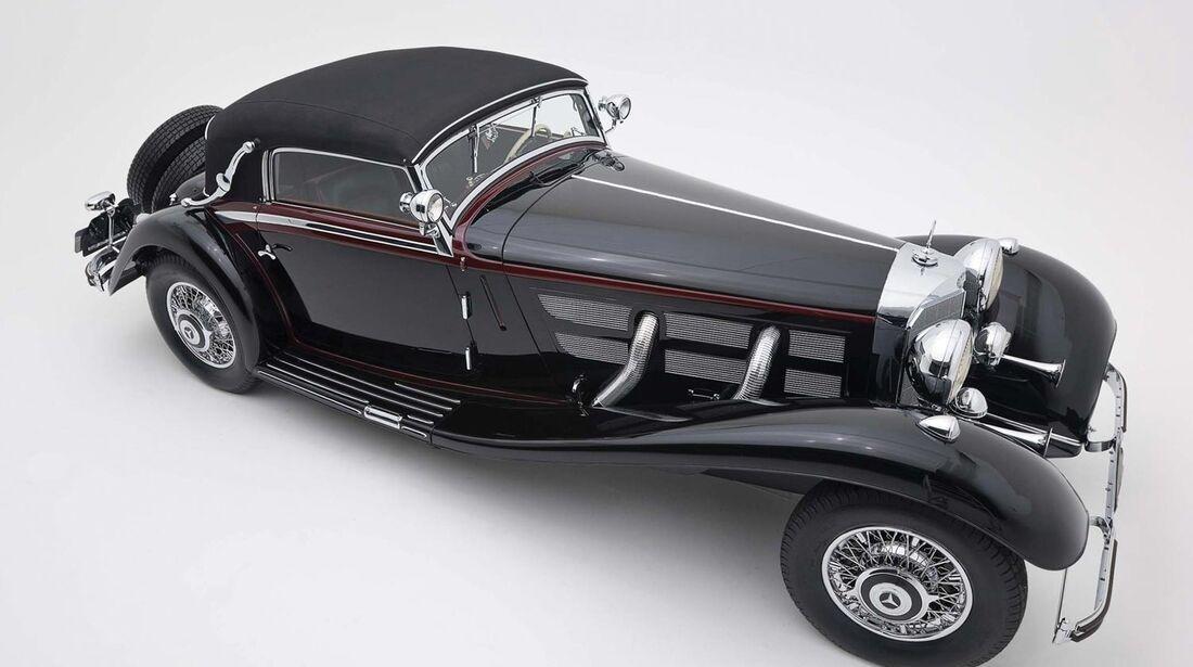 1934 Mercedes-Benz 200 W21 Sonnenscheinlimousine RM Auctions Monaco 2012