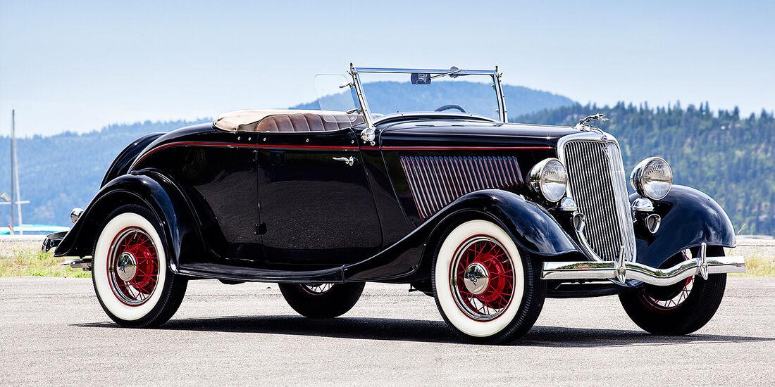 1934er Ford DeLuxe Roadster