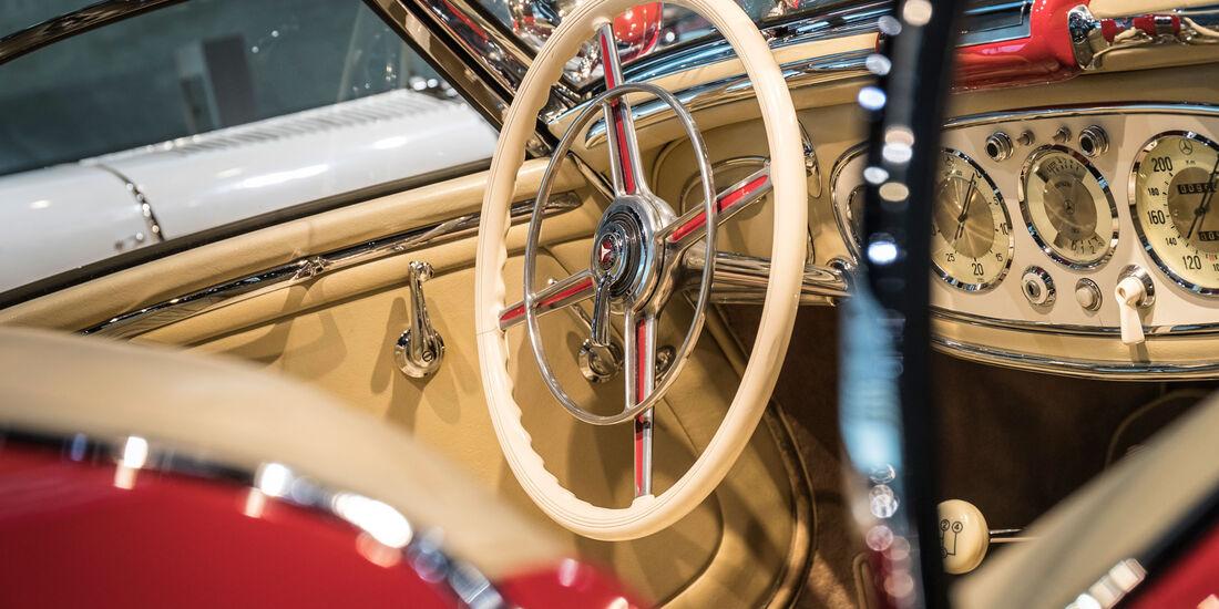 1936 Mercedes-Benz 500K Spezial-Roadster - Mercedes-Museum - Lenkrad