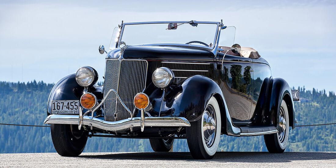 1936er Ford DeLuxe Roadster