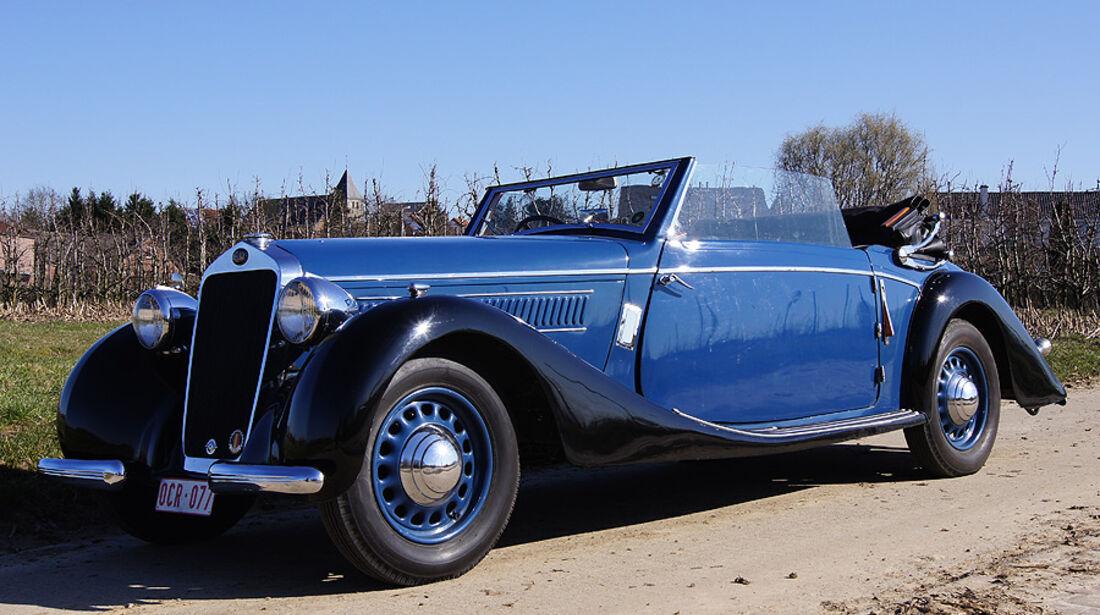 1937 Delage D6/70 Cabriolet