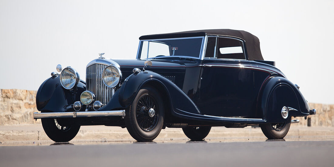 1937er Bentley 4¼-Liter Coupé