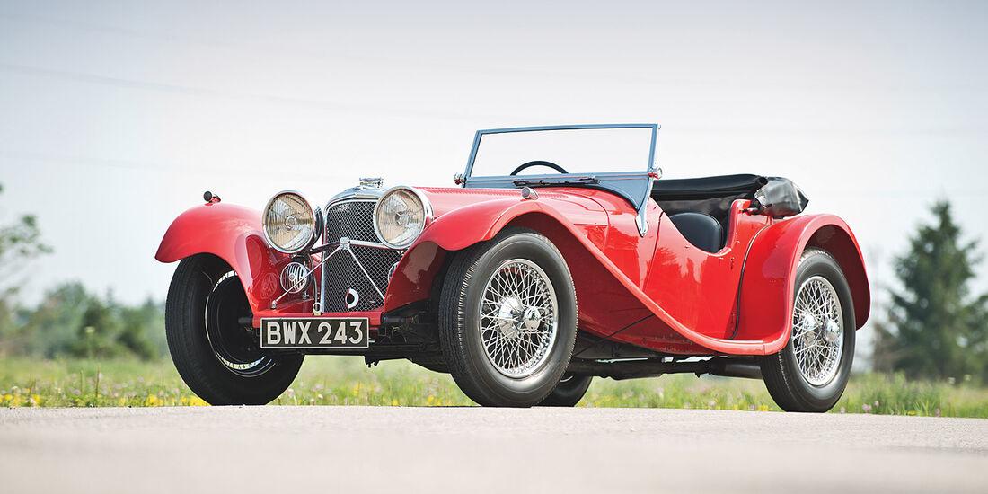 1937er SS100 3.5-Liter Jaguar Roadster