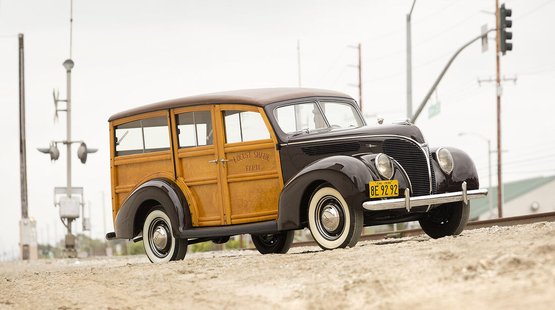 1938er Ford DeLuxe Station Wagon