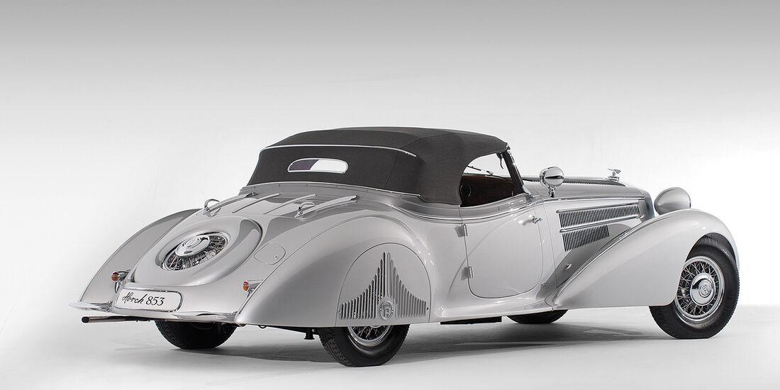 1938er Horch 853A Special Roadster by Erdmann & Rossi