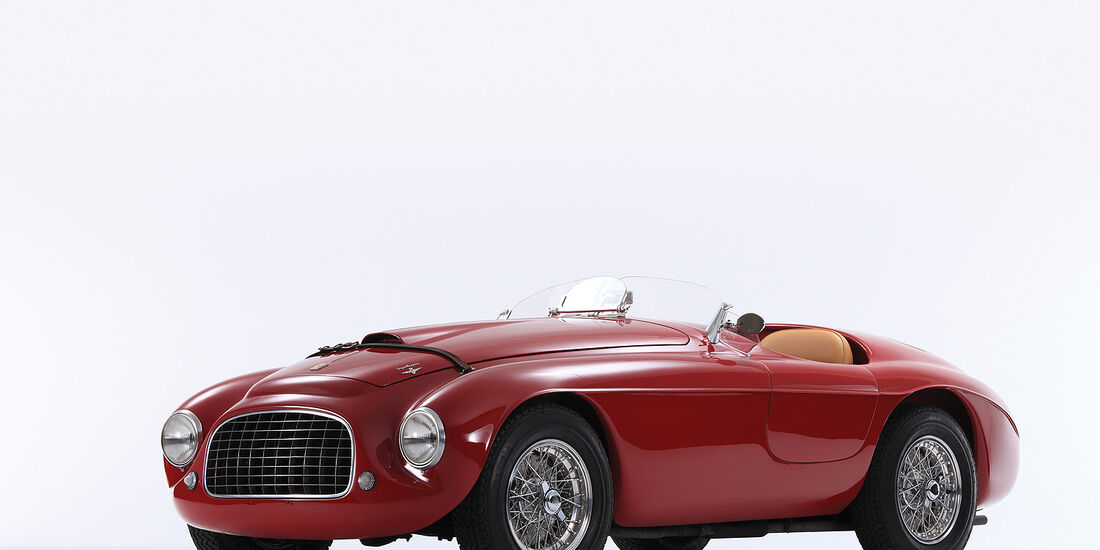 1950er Ferrari 166 MM Barchetta