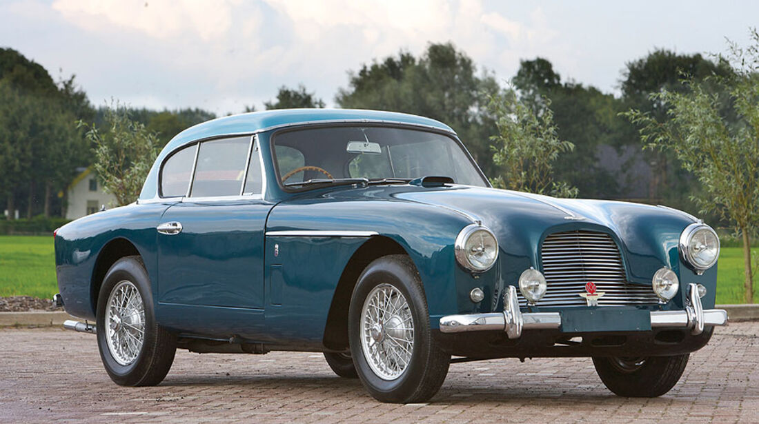 "1951er Aston Martin DB2/4 Mk II Fixed Head Coupé ""Notchback"""
