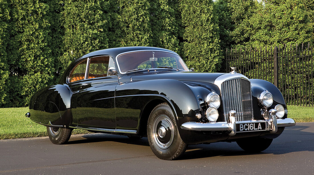 1953er Bentley Continental R-Type Fastback Sports Saloon by H.J. Mulliner & Co.
