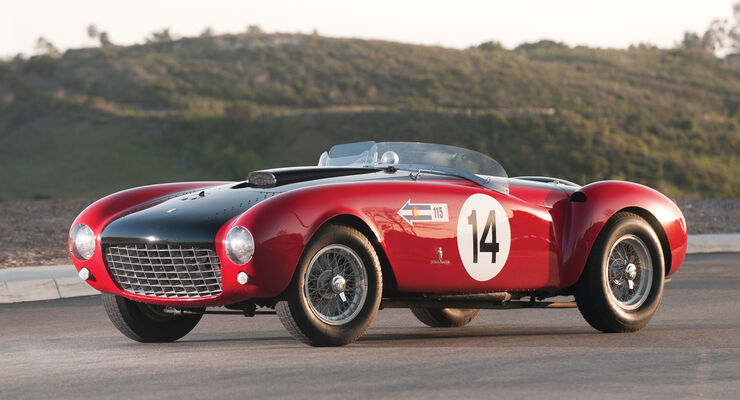 1953er Ferrari 375 MM Spider