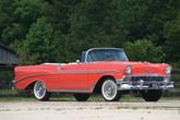 1956er Chevrolet Bel Air Convertible