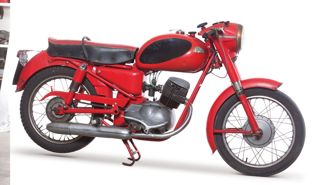1961 Ducati 125 TV 'Testone' RM Auctions Monaco 2012