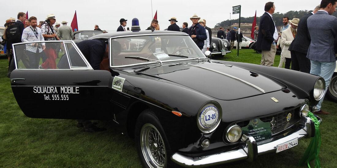 1962 Ferrari 250 GTE Pininfarina Coupé Police Car - Pebble Beach Concours d'Elegance 2016