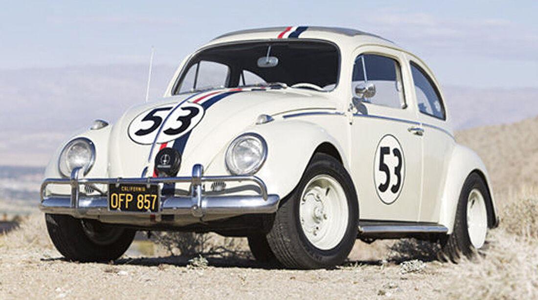 """1963 Volkswagen Beetle Sunroof Sedan""""Herbie the Love Bug"""""""