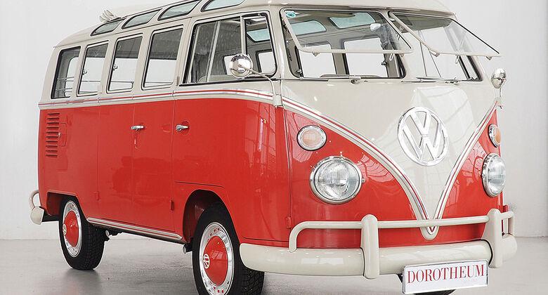 1963 Volkswagen T1 Sondermodell 21 Fenster