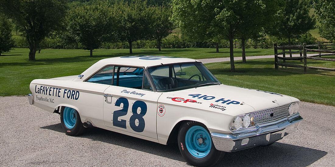 1963er Ford Galaxy Holman & Moody NASCAR Race Car