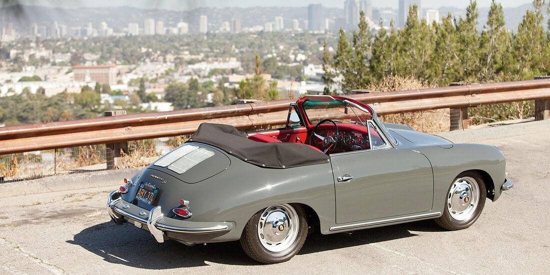 1963er Porsche 356B 1600 S Cabriolet by Karosseriewerk Reutter