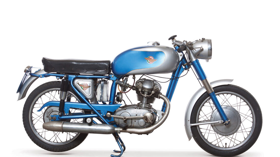 1965 Ducati 100 Sport RM Auctions Monaco 2012