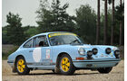 1965er Porsche 911 SWB FIA Rally Car