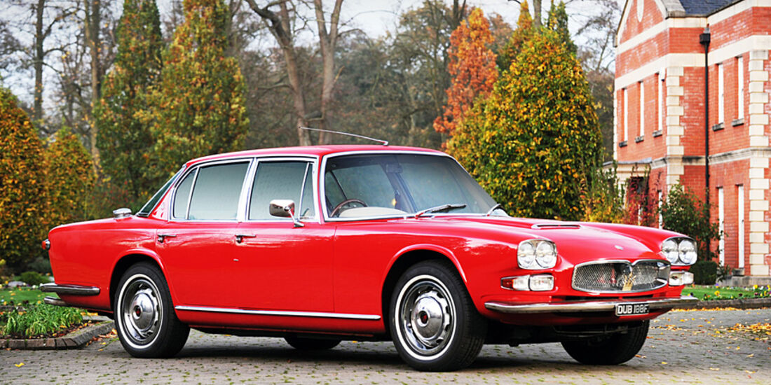 1967er Maserati Quattroporte Saloon