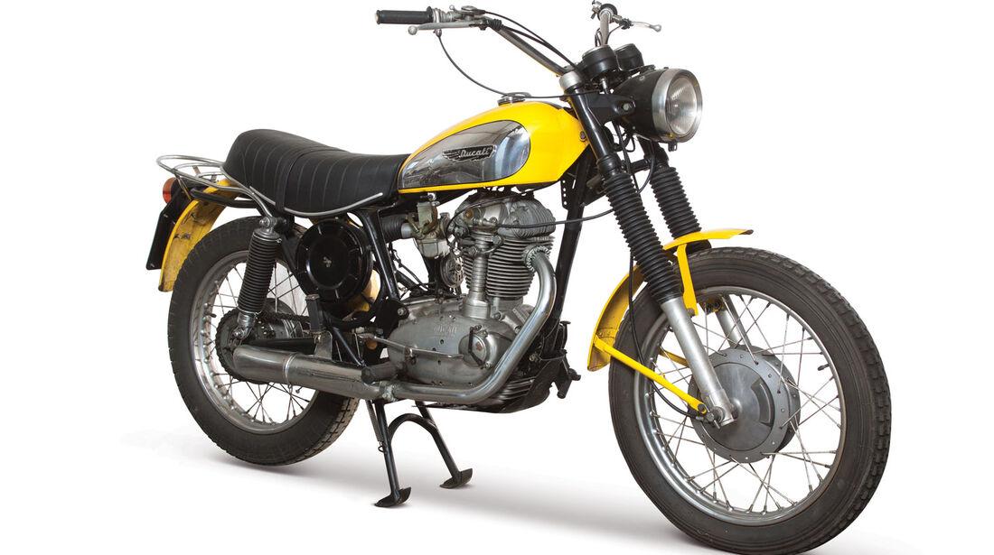 1973 Ducati 450 Desmo Scrambler RM Auctions Monaco 2012
