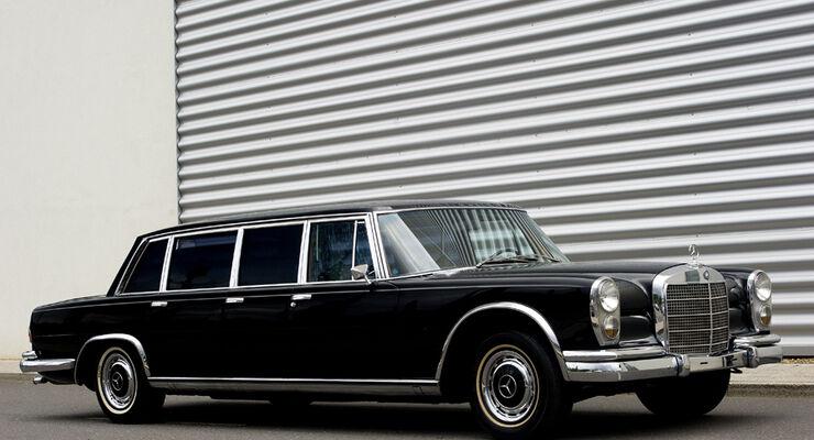 1973er Mercedes-Benz 600 Pullman Limousine