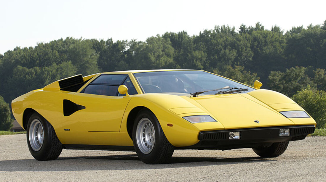 1976er Lamborghini Countach LP400 Coupé