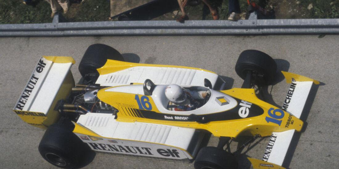 1979 Renault V6 Turbo GP Frankreich
