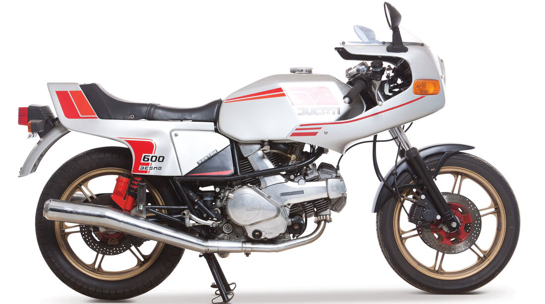 1981 Ducati 600SL Pantah Desmo RM Auctions Monaco 2012