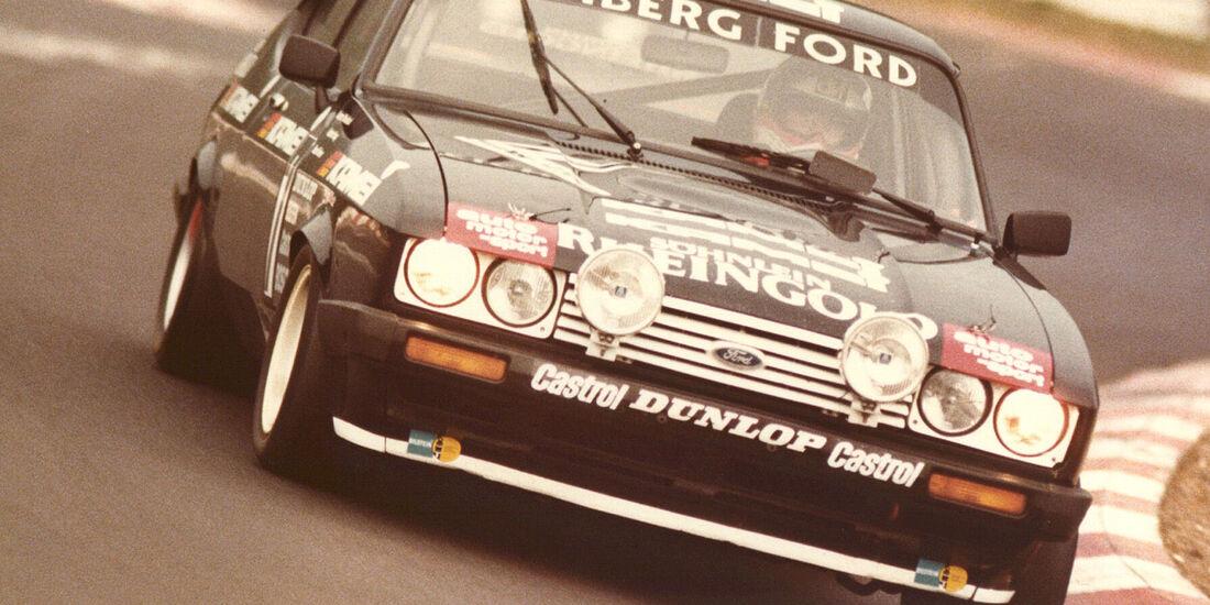 1982 Ford Capri 24h-Rennen Nürburgring Eichberger