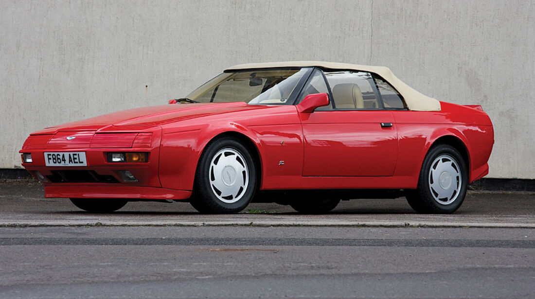 1989 Aston Martin V8 Zagato Volante