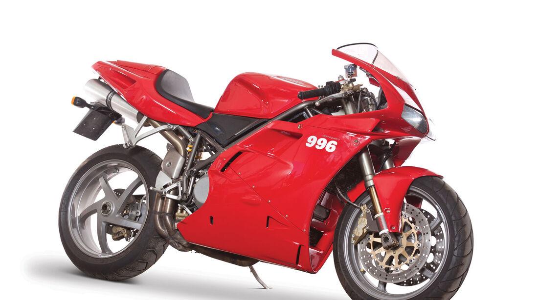 2000 Ducati 996 Biposto RM Auctions Monaco 2012