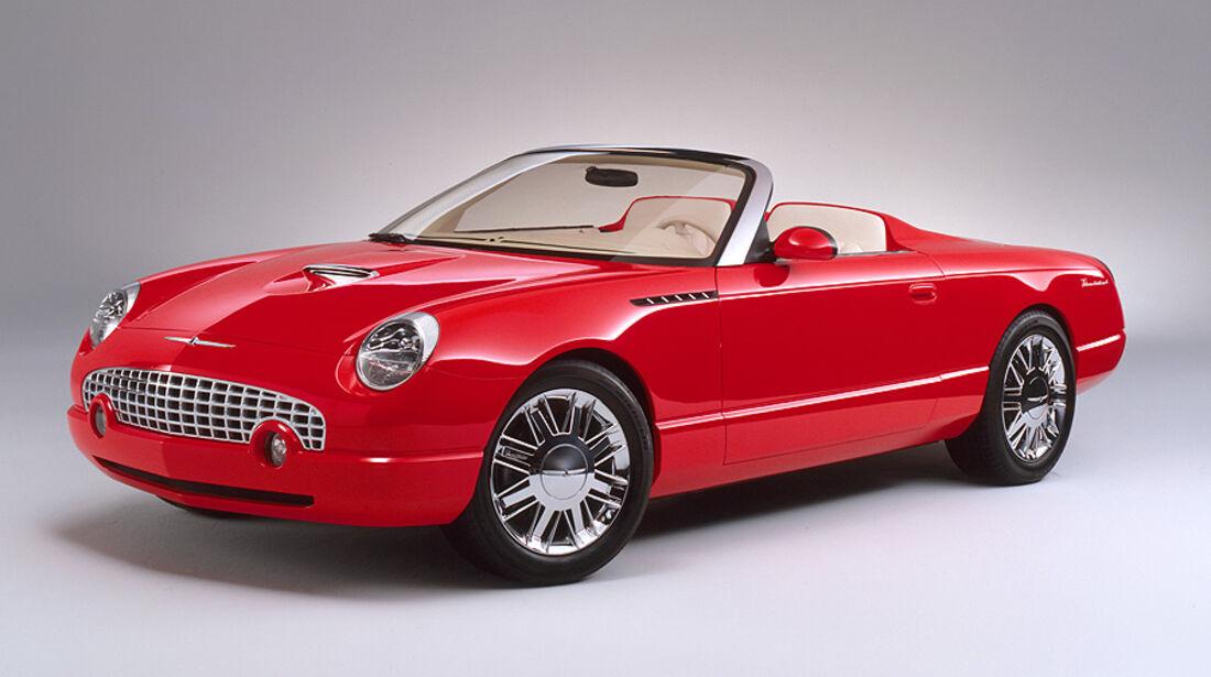 2001er Ford Thunderbird Sports Roadster Concept Car